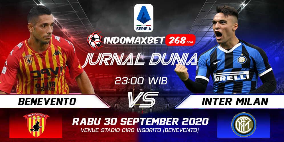 Prediksi Benevento vs Inter Milan 30 September 2020 Pukul 23:30 WIB