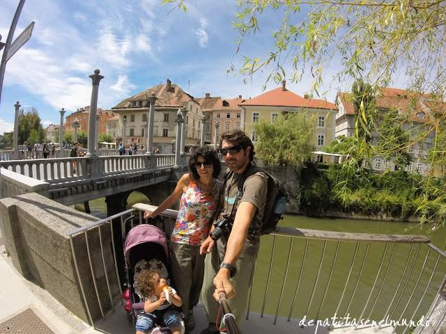 Puente de los Zapateros en Liubliana