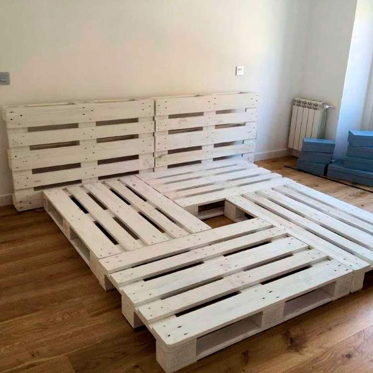 Cómo hacer una cama de palets paso a paso_8
