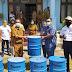Dukung Pemkab Mimika Jaga Kebersihan di Pasar Sentral, Freeport Beri Bantuan Tempat Sampah