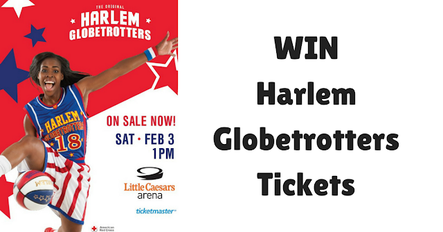 Win Harlem Globetrotters Tickets, giveaway, Metro Detroit, 2018