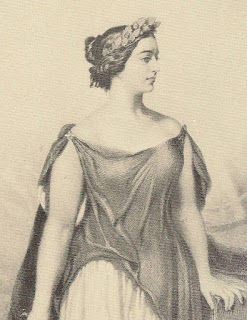 Giulia Grisi appears as Norma in Vincenzo Bellini's opera of the same name