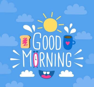 gambar ucapan selamat pagi