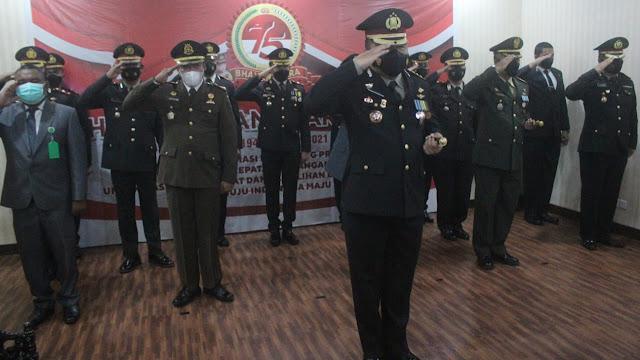 Kapolresta Mataram Pimpinan Peringatan Hari Bhayangkara Ke-75 Secara Virtual