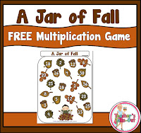Free Jar of Fall Multiplication Game