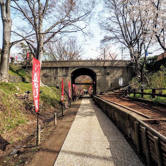 上田城 二の丸橋