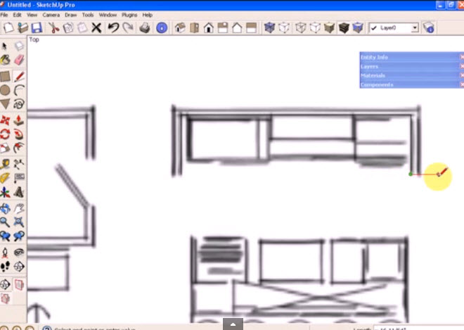 How To Use The Dynamic Component Cabinets In SketchUp
