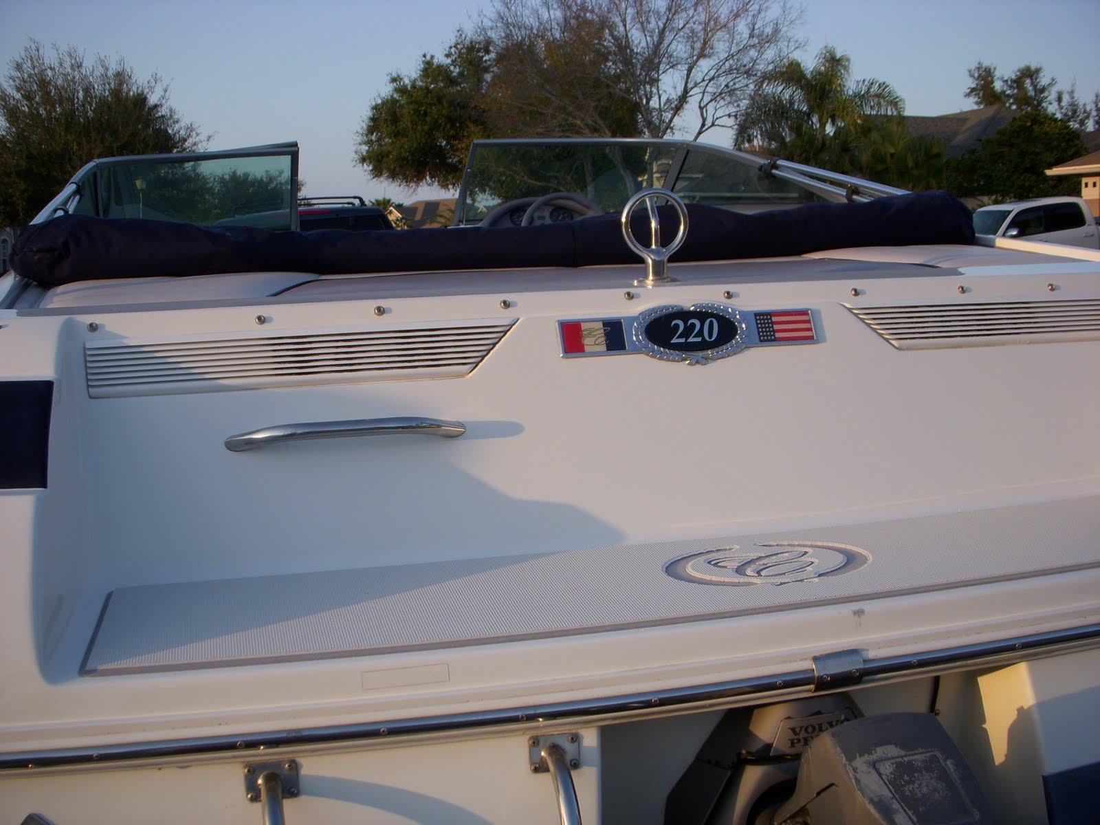 Cobalt Custon Swim Platform Pad Seadek Marine Products