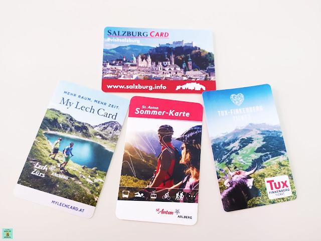 Tarjetas turísticas en Austria