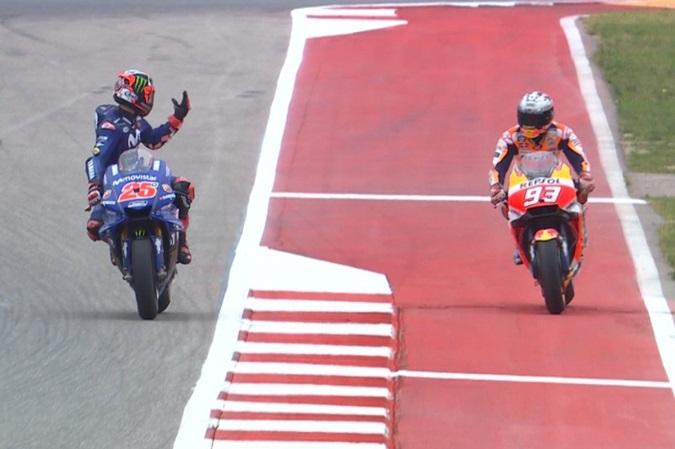 AKAI DAI! Bisa-bisa Pole Position Marquez dibatalin Padai Mulah Vinales Kesel