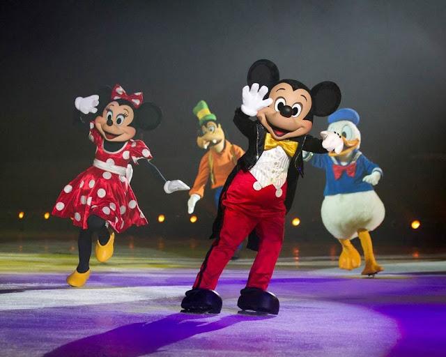 mickey on ice