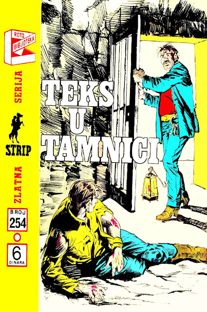 Teks u Tamnici - Tex Willer