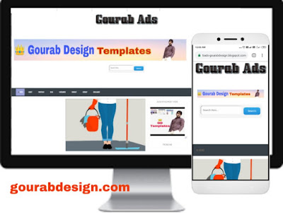 gourab ads personal blogger template
