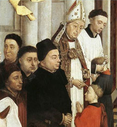 Painting of kumpil by Vander Weyden