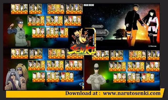 Download Naruto Senki Brutal War V1 Mod Apk