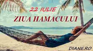 22 iulie: Ziua hamacului