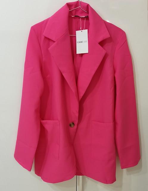 giacca rosa