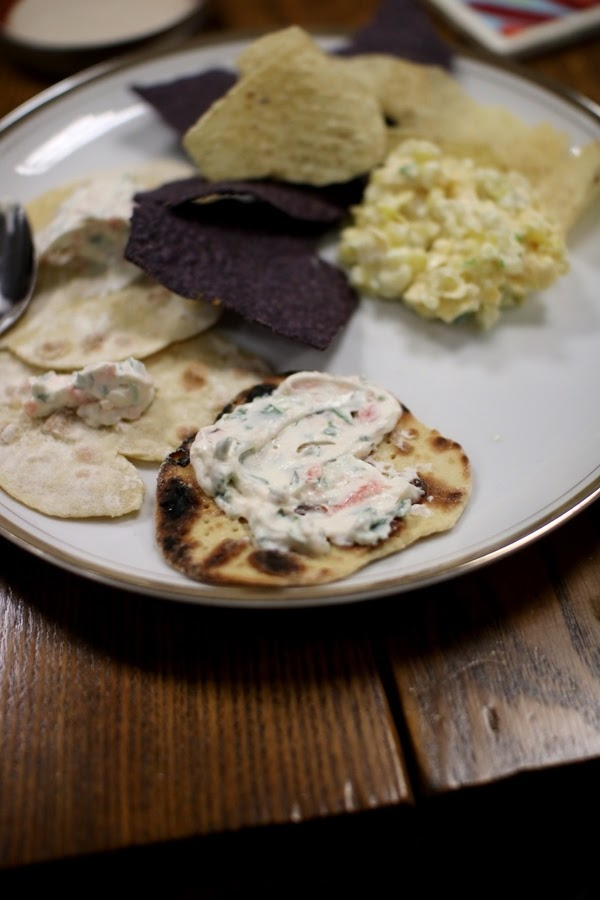 Homemade mini matzahs are great for serving with dips and hummus | Land of Honey
