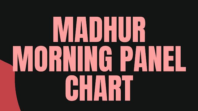 Madhur Morning Chart | Madhur Morning Panel Chart | DpBoss | Satta Matka | Satta Matta Matka 2021