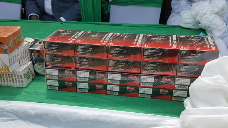 NAFDAC destroys fake drugs in Port Harcourt
