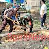 Manfaatkan Waktu Libur Panjang, Pemdes Pattopakang Kerjakan Bedah Rumah di Dusun Pattopakang Kec Marbo Takalar