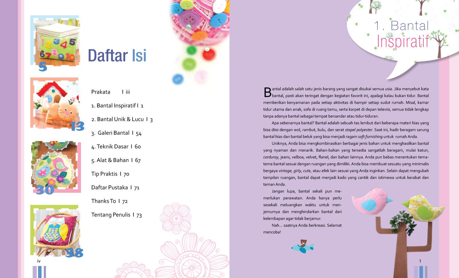 Capungmungil My Second Craft Book 2 Bantal Unik Dan Lucu