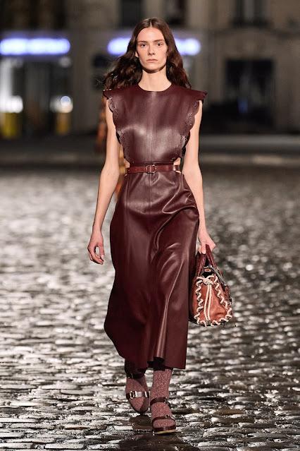 Chloe by Gabriela Hearst Fall 2021 recap at Paris Fashion Week by Kelly Fountain