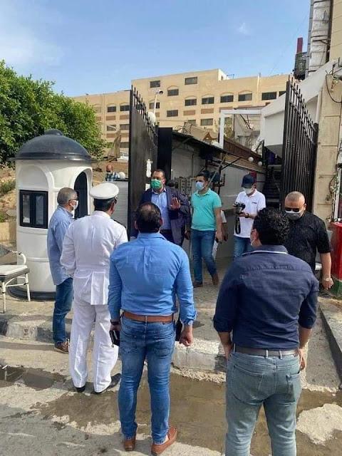 """محدش أكبر من الدولة"""".. جهاز القاهرة الجديدة يشميع كافيه بسمه وهبه"""