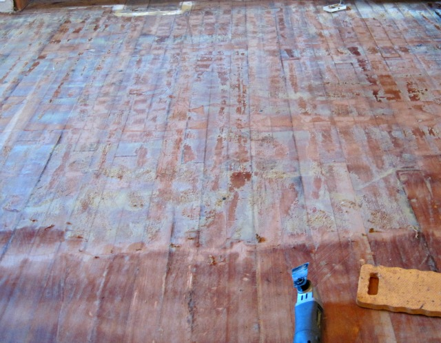 Removing Glue Or Adhesive From Hardwood Floors The Speckled Goat - Hardwood floor scraping tools