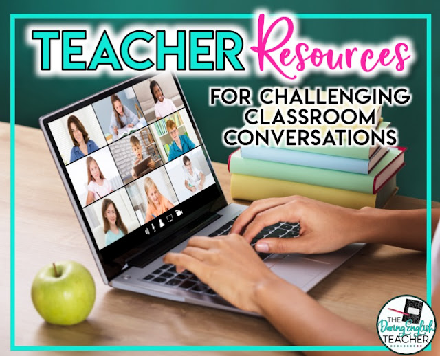 Teacher Resources for Challenging Classroom Conversations