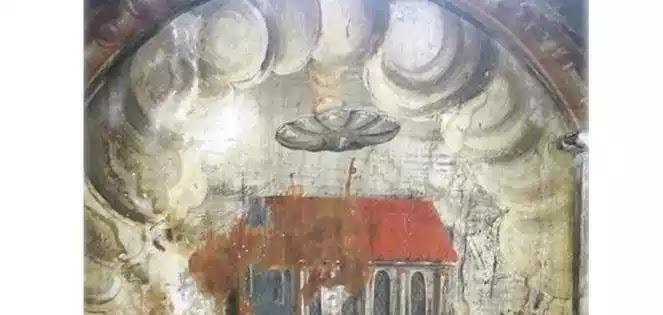 Ένα UFO πάνω από μια εκκλησία - η περίεργη μεσαιωνική τοιχογραφία από την Ρουμανία   +  σημαντικό μήνυμα