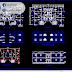 مخطط مشروع عمارة سكنية بطابقين 4 اوتوكاد dwg