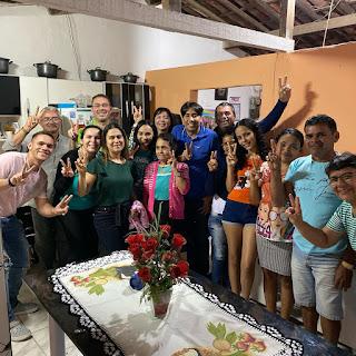 Nelinho Costa recebe o apoio de novas famílias de Cacimba de Dentro