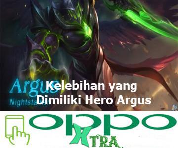 Kelebihan yang Dimiliki Hero Argus