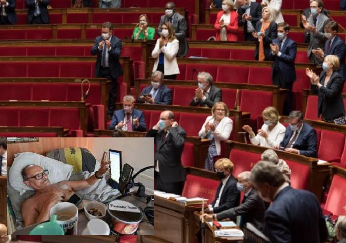 Affaire Alain Cocq: les députés se pencheront bientôt sur l'euthanasie