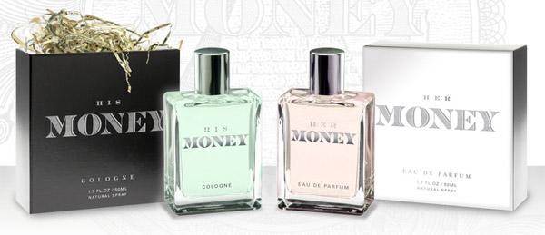 parfum unik dan juga aneh dengan aroma bau uang kertas