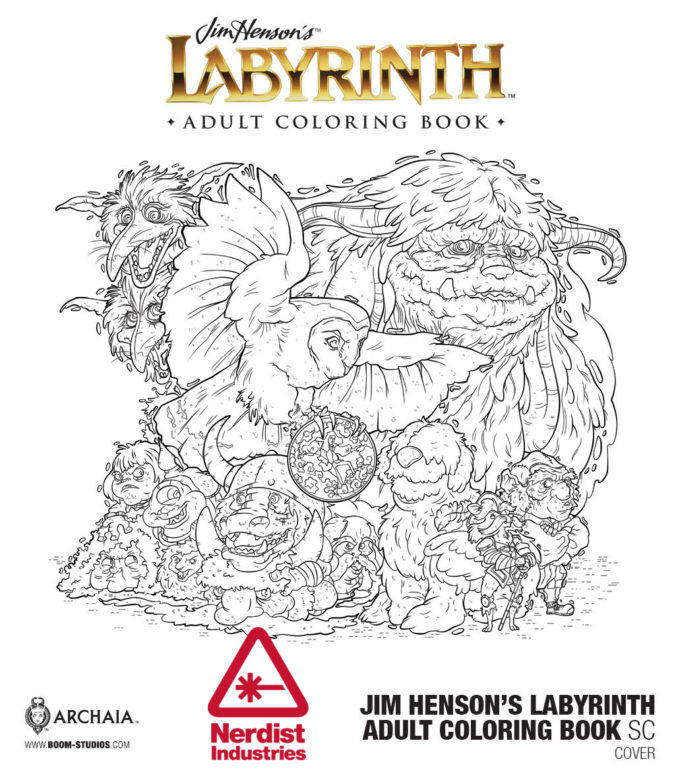 As We First Reported Back On March Labyrinth Is Getting The Adult Coloring Book Treatment