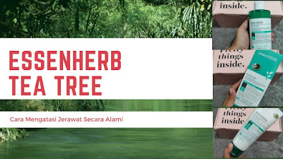 EssenHerb Tea Tree Cara Mengatasi Jerawat Secara Alami