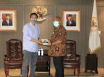 Rusli Perjuangkan Dana PEN Melalui Ketua DPR RI