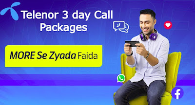 Telenor 3 day Call Packages