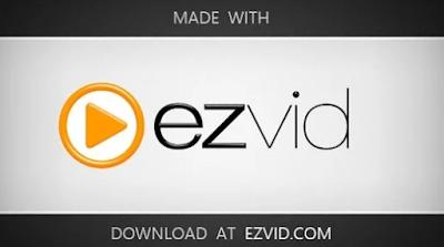 برنامج تسجيل الشاشة للكمبيوتر Ezvid