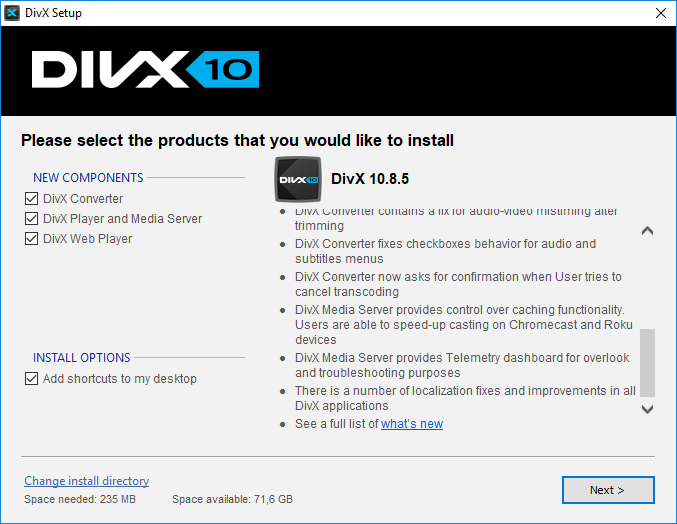 divx pro 10.8.6 serial