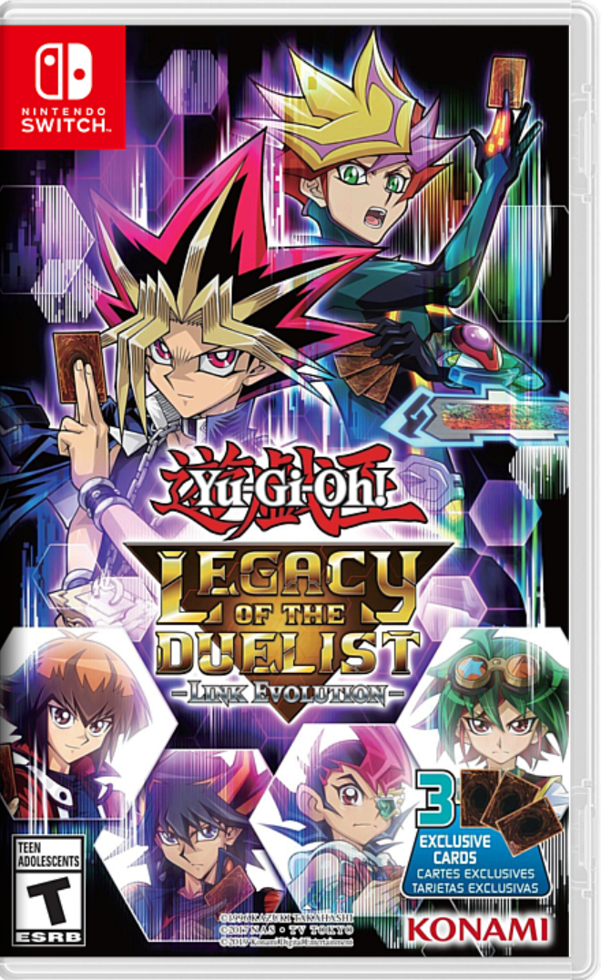 Yu Gi Oh Legacy of the Duelist Link Evolution NSP Switch