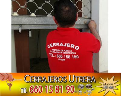 Colocación cerradura en Utrera ( Sevilla)