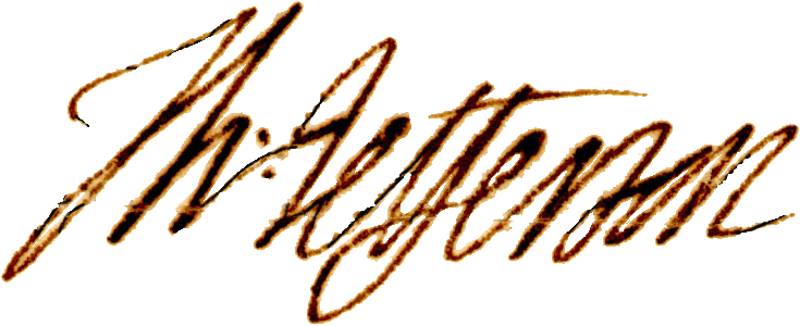 Thomas Jefferson signature