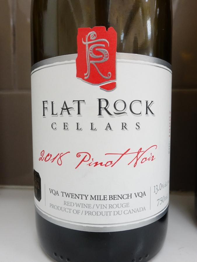Flat Rock Pinot Noir 2018 (90+ pts)