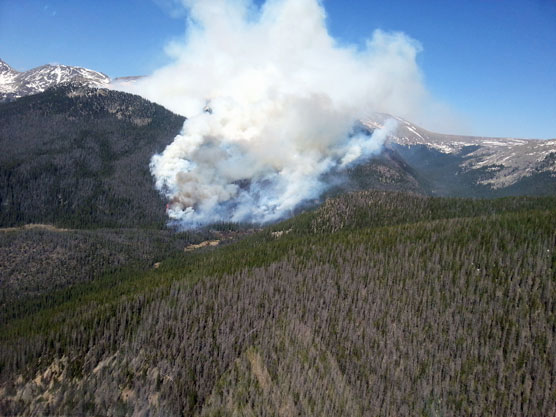 Grand Lake Fire Map.Rocky Mountain Journal Update On Big Meadows Fire 2 More Trails