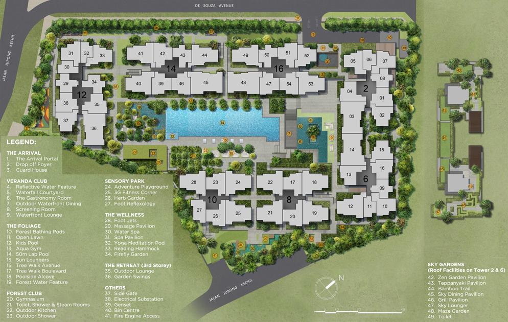 Verdale Site Plan