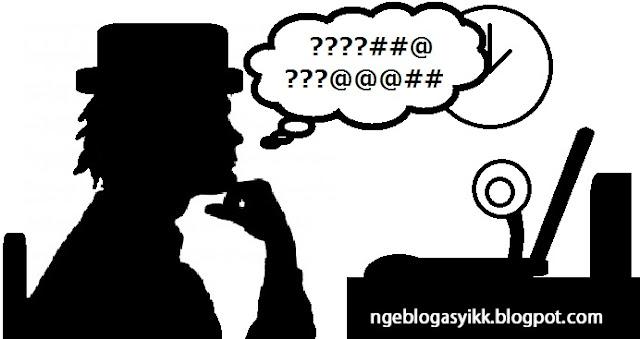 bingung menulis artikel postingan blog situ web