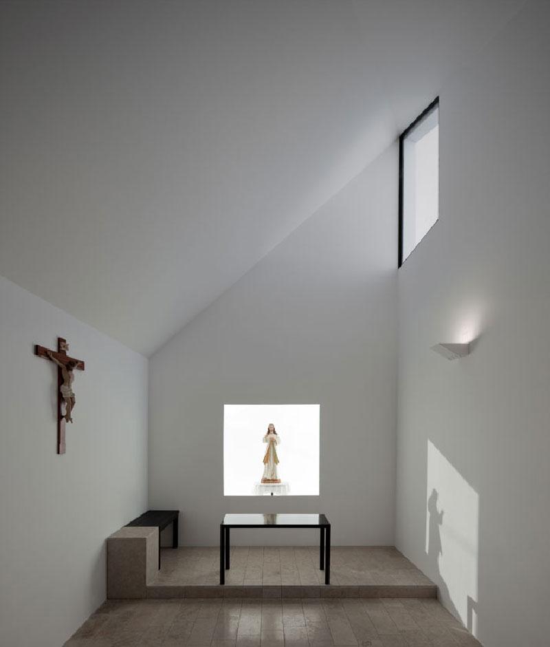 Capela-de-Santa-Filomena-09 Capela de Santa Filomena by Pedro Maurício Borges Design